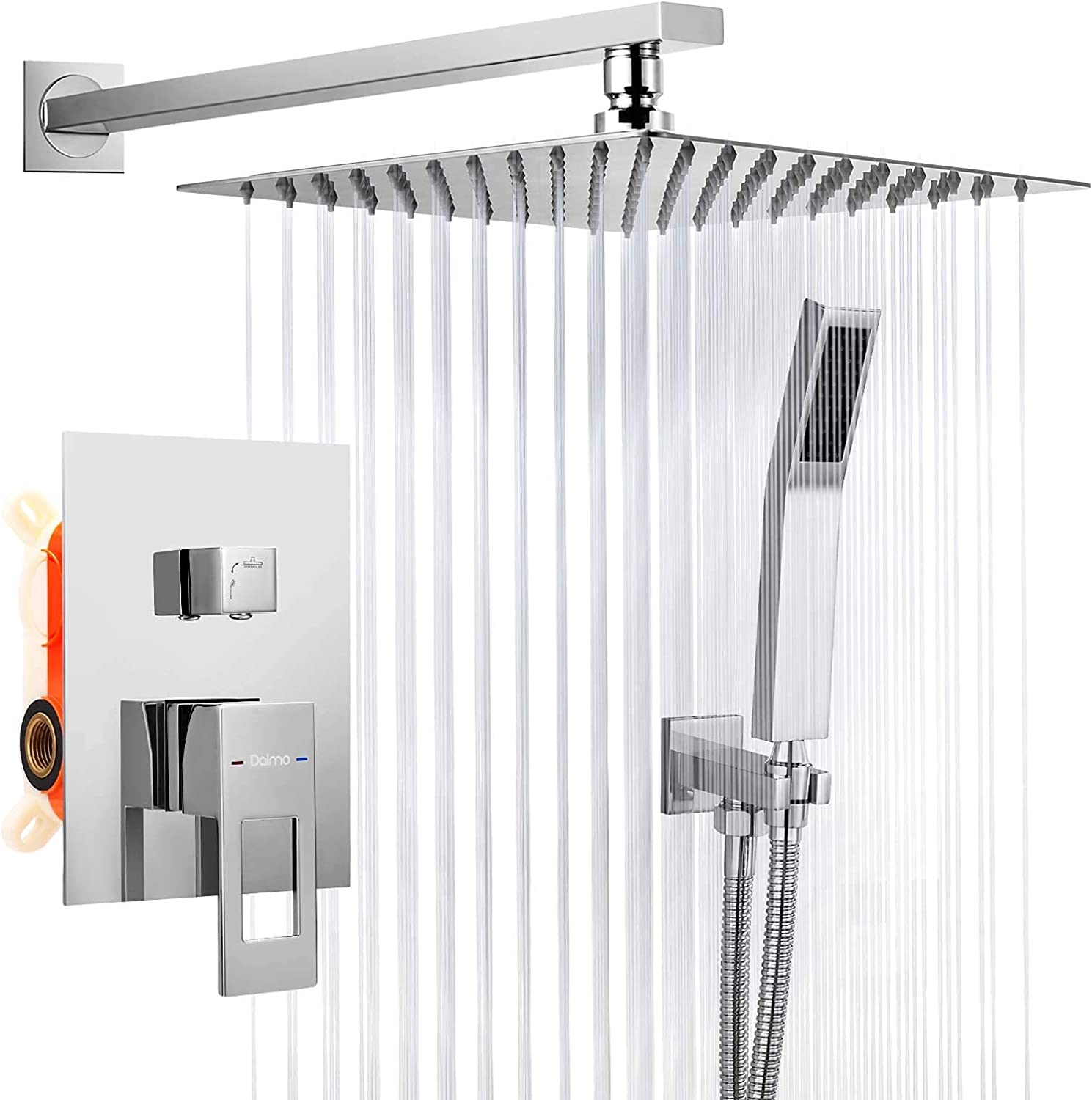 Buy Dalmo Shower System Wall Mounted, 20 Inches Shower Faucet Set ...