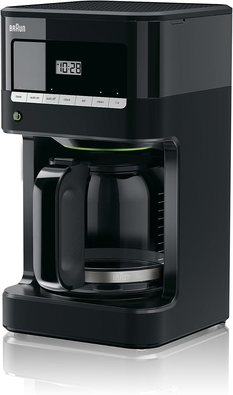 brown KF7000BK Brew Sense Drip Coffee Maker, Black