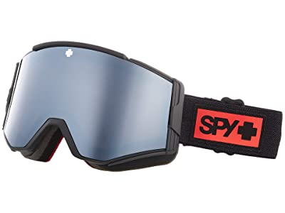 Spy Optic Ace (Night Rider Matte Black Hd Plus Bronze w/ Silver Spectra Mirro) Goggles