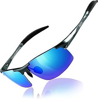 6e53d63758 DUCO Mens Sports Polarized Sunglasses UV Protection Sunglasses for Men 8177s