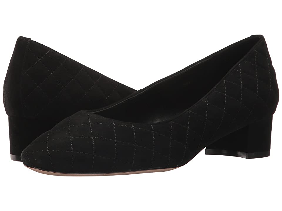 Vaneli April (Black Suede/Black Stitch) Women