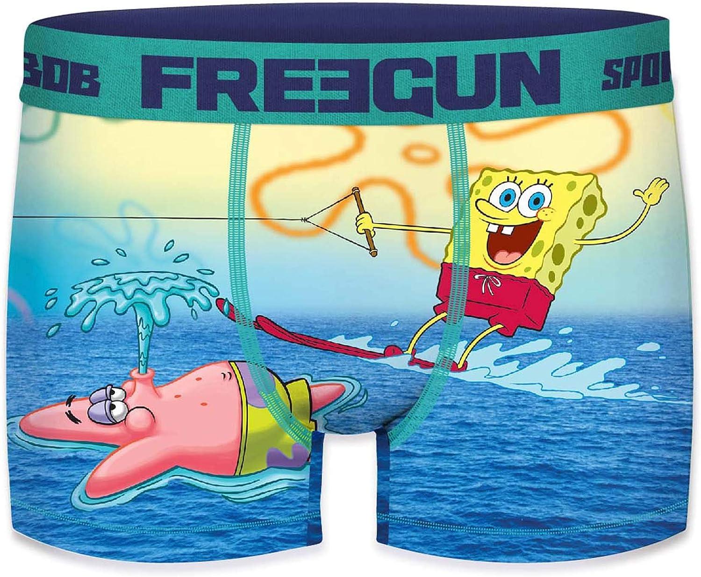 FREEGUN Boxershorts Jungen Spongebob Schwammkopf