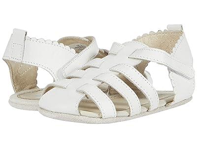 Robeez Lola Mini Shoez (Infant/Toddler) (White) Girls Shoes