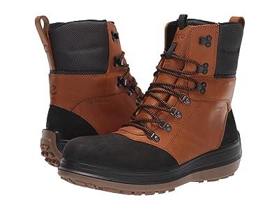 ECCO Sport Roxton GORE-TEX(r) Primaloft Heavy Winter Boot (Black/Amber) Men