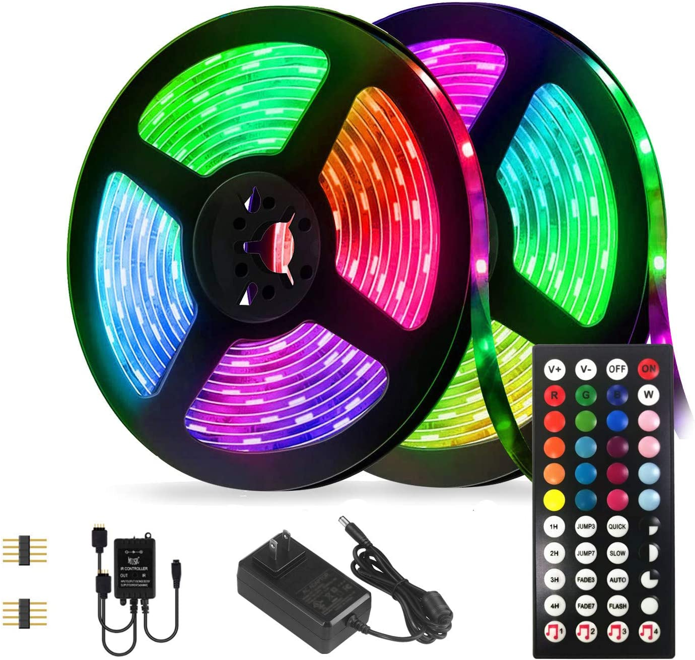 55% OFF Led Strip Lights Limited time cheap sale Kit 32.8ft Flexible Waterproof Color Light Tape