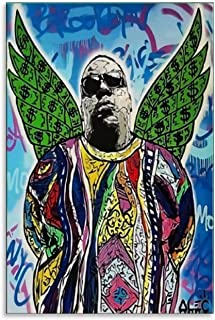 ALEC Monopoly-Notorious Big Poster Decorative Painting Canvas Wall Art Living Room Posters Bedroom Painting 12x18inch(30x45cm)