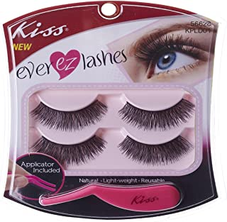 Kiss Products No. 05 Ever EZ Lashes, 4 Count