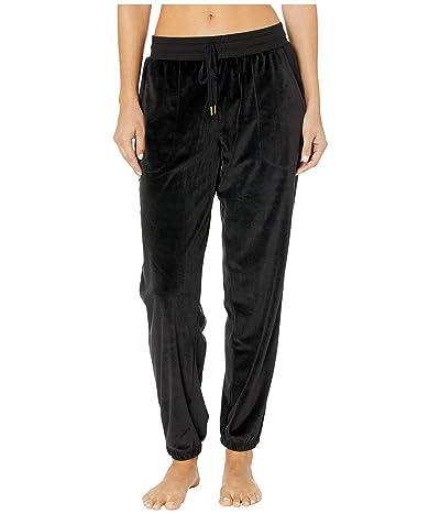 Donna Karan Lux Dream Jogger Pants (Black) Women