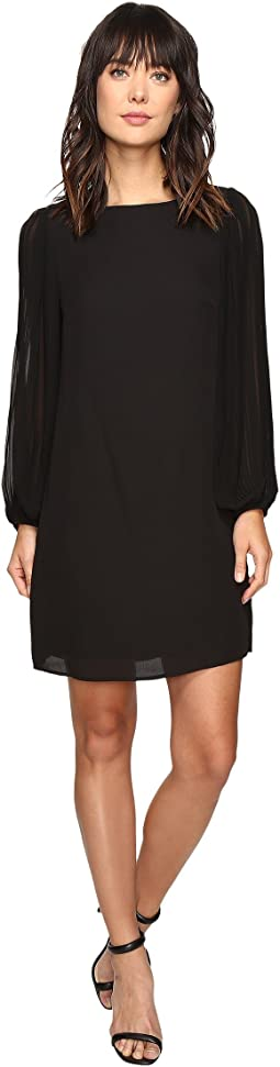 Christin Michaels - Orpington Pleated Sleeve Dress
