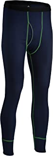 Indera Men's Mesh Knit Performance Thermal Underwear Pants with Silvadur