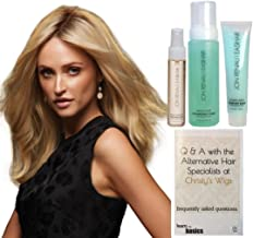 GET THE LOOK - Jon Renau Angie Exclusive Remy Human Hair Wig, 15 Page Christy's Wigs Q & A, Volumizing Foam, Argan Mist & Blown Away -Color 12FS8
