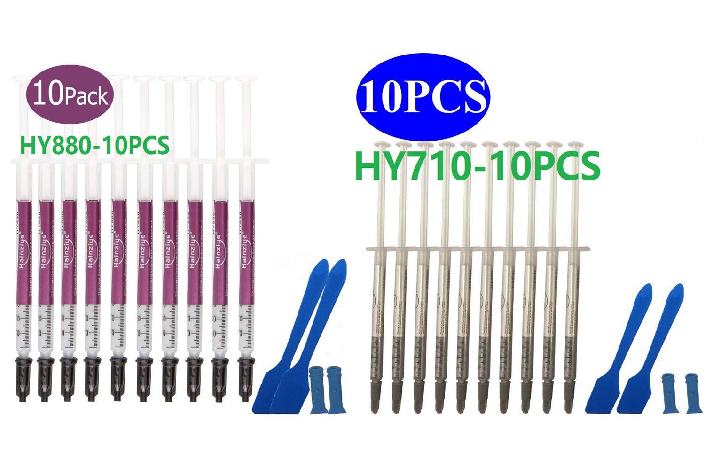 HY 710 10pcs Thermal Paste Conductivity Performance