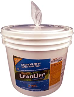 Hygenall LeadOff Wipes Tub, 500 Count