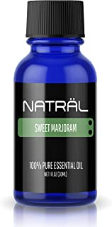 NATRÄL Sweet Marjoram, 100% Pure and Natural Essential Oil, Large 1 Ounce Bottle