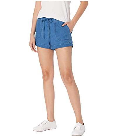 Volcom Sunday Strut Shorts (Air Force Blue) Women