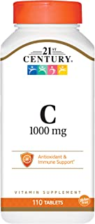 21st Century C 1000 mg Tablets, 110 Count