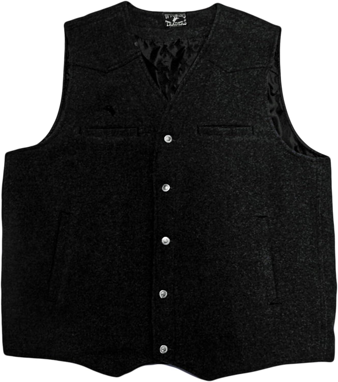 Wyoming Traders Men's Wool Vest