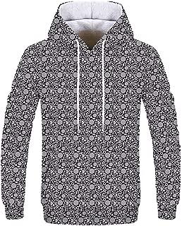 Unisex 3D Printing Geometric Hoodies - Hooded Sweatshirts