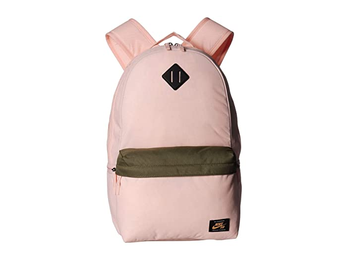 Nike  SB Icon Backpack (Washed Coral/Medium Olive/Fuel Orange) Backpack Bags