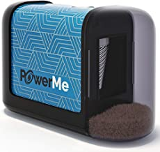 PowerMe Electric Pencil Sharpener - Battery Operated, for Home, Office, School, Artist, Students – Ultra Portable Automatic Pencil Sharpener, ideal for No. 2 And Colored Pencils (Drawing, Coloring)