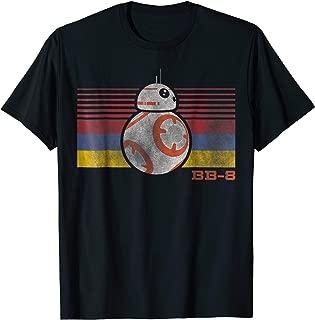 BB-8 Retro Stripes Episode 7 Graphic T-Shirt