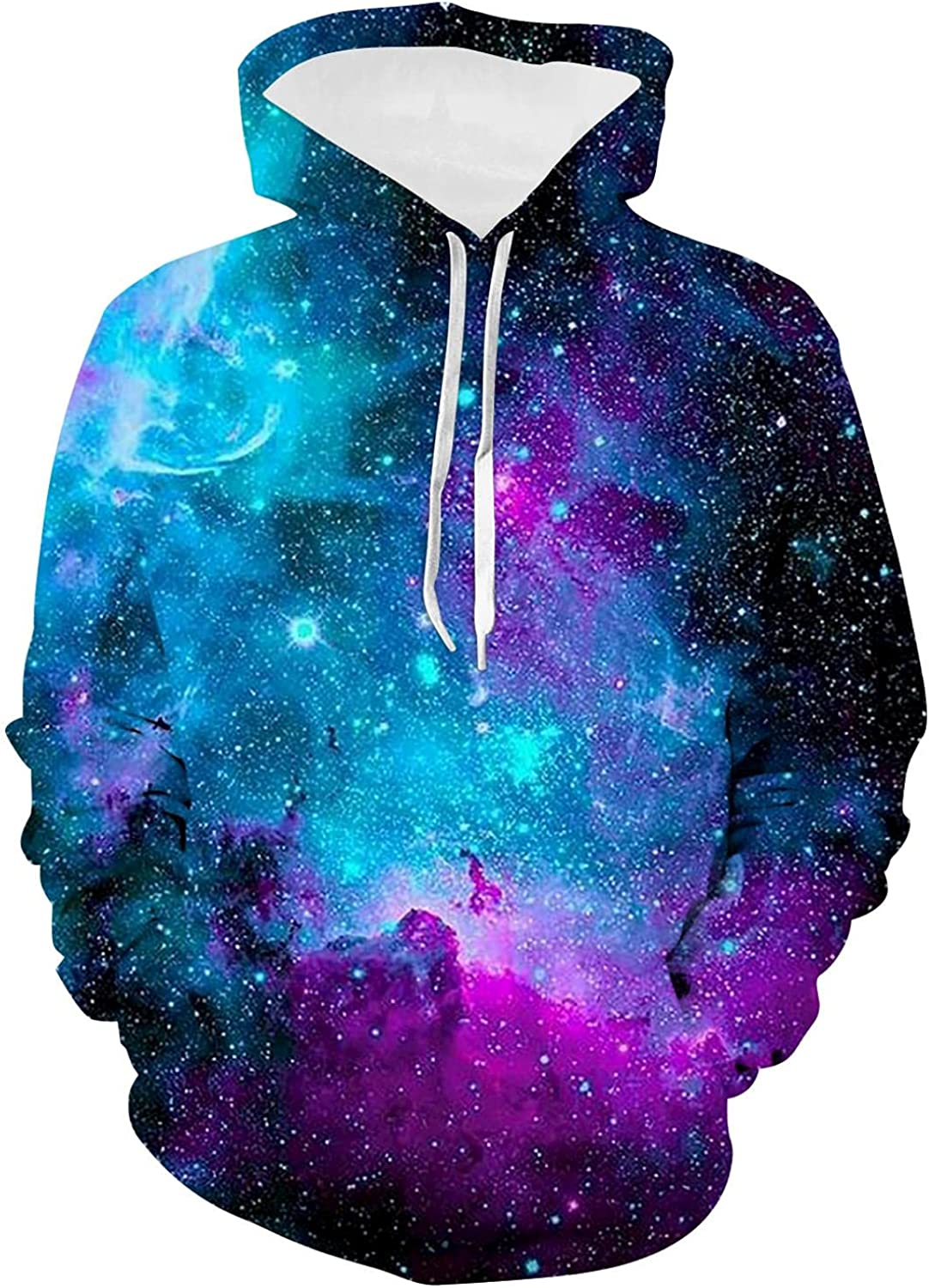Colorful Butterfly Youth Hoodie 3D Print Casual Pullover Hoodies Long Sleeve Sweatshirts with Pocket for Boys Girls Teen