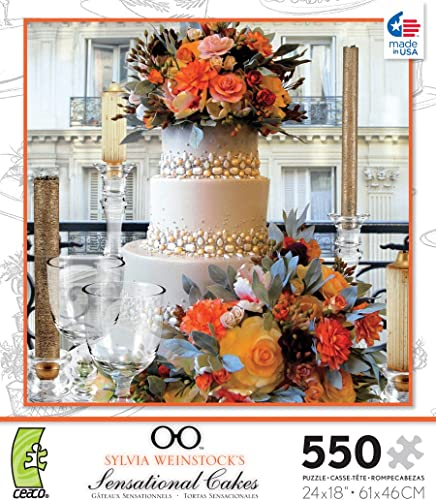 Sensational Cakes Elegant Event 550 Piece Jigsaw Puzzle
