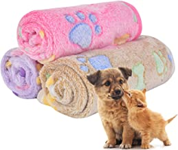 BBDOGO Pet Blanket for Small Cats & Dogs Sleep Mat Warm Bed Mat Soft, Warm,Comfortable 3pcs/Pack CW041
