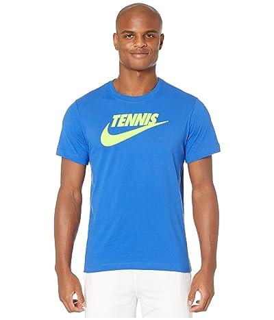 Nike NikeCourt Tee Tennis GFX (Game Royal/Volt) Men