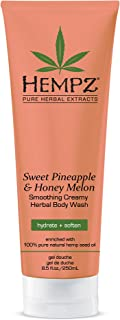 Sweet Pineapple & Honey Melon Creamy Herbal Body Wash, 8.5 Ounce