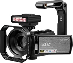 4K Video Camera Camcorder ORDRO HDR-AE8 UHD 1080P 60FPS Digital WiFi Camera Camcorders IR..