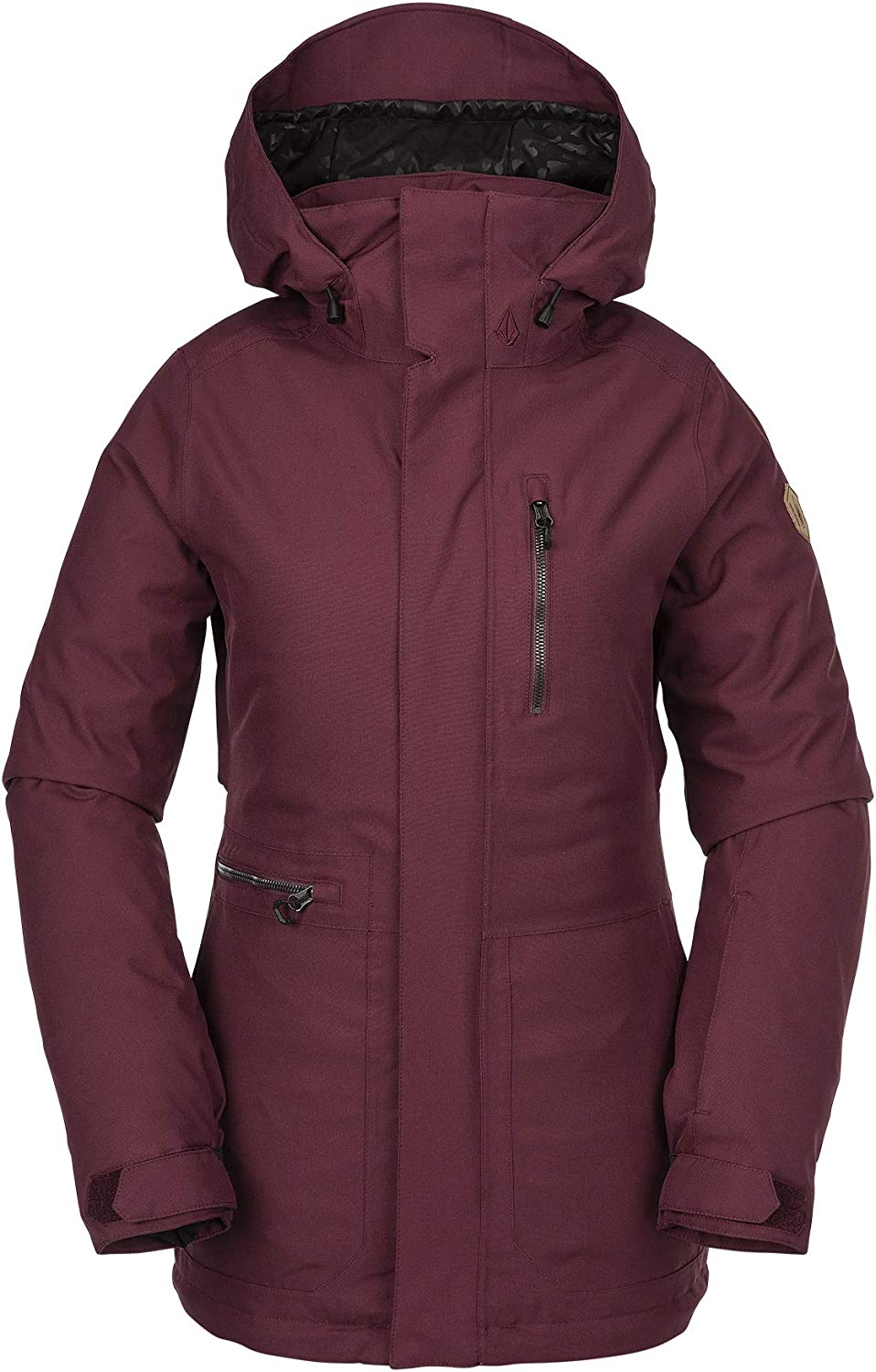Volcom Women's Shelter Limited time cheap sale 3D Stretch Winter Insulated San Antonio Mall Ski Snowboard