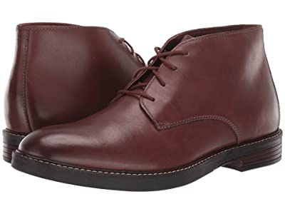 Clarks Paulson Mid (Mahogany Leather) Men