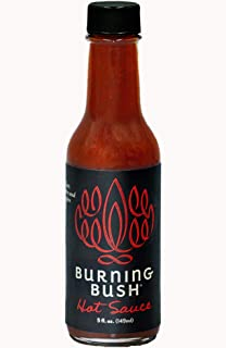 Burning Bush Hot Sauce fuses heat with flavor in its unique blend of chilies and ancient herbs from the Holy Land, Vegan, ...
