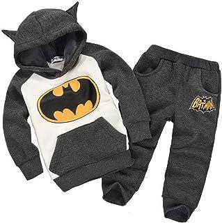 GETUBACK Baby Batman Clothing Sets Children Spring Tracksuits