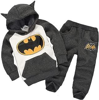 Baby Batman Clothing Sets Children Spring Tracksuits