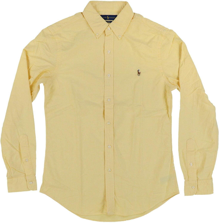 Polo Ralph Lauren Men's Slim-Fit Oxford Button Down Shirt