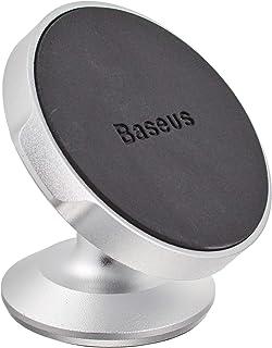 Baseus Small Ears Series Magnetic Bracket(Vertical type)Silver, SUER-B0S