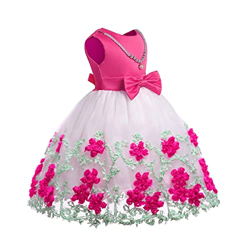 8fcbe7325 NSSMWTTC Flower Girl Pageant Dress Kids Party Dresses,2-9 Years