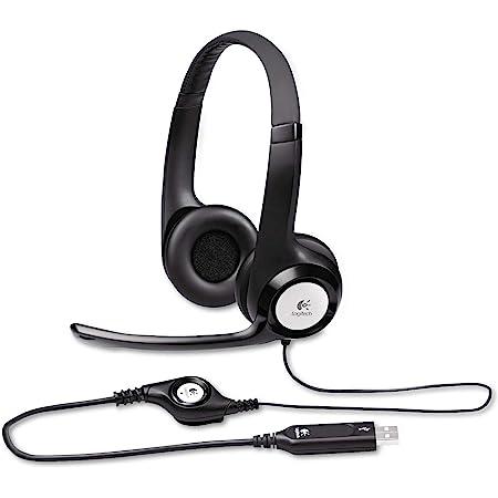 Logitech New logitech h390 USB Headset with noisecanceling Microphone Bulk Packaging, 5.8 Ounce