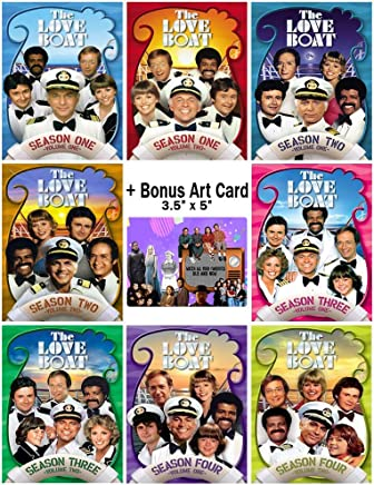 The Love Boat: Classic TV Series Seasons 1-4 DVD Collection + Bonus Sticker
