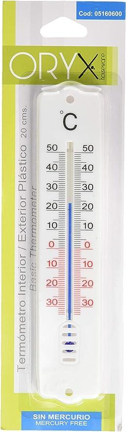 Oryx 5160600 Außen Innen Oryx Thermometer Kunststoff 20 Cm Gewerbe Industrie Wissenschaft