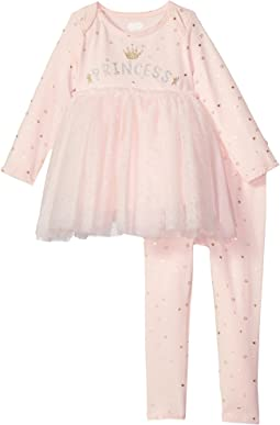 Mud Pie Princess Two-Piece Pants Set (Infant)