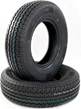 Set of 2 New ST 225/75R15 OSHION 10 Ply E Load Radial Trailer Tire - 117/112 L