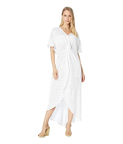 Show Me Your Mumu Get Twisted Maxi Dress (Sand Dollar Gauze) Women