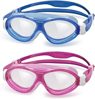 HEAD Kids Seal 2 Pack Swim Goggles,  Dark Blue & Pink White