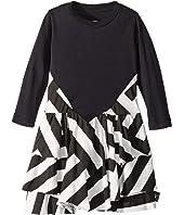 Striped Layered Dress (Infant/Toddler/Little Kids)