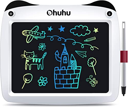 Ohuhu 9 inch Electronic Drawing Doodle Board, Digital Drawing Pad,Drawing Tablet Scribble and Play Learning Boards fo...