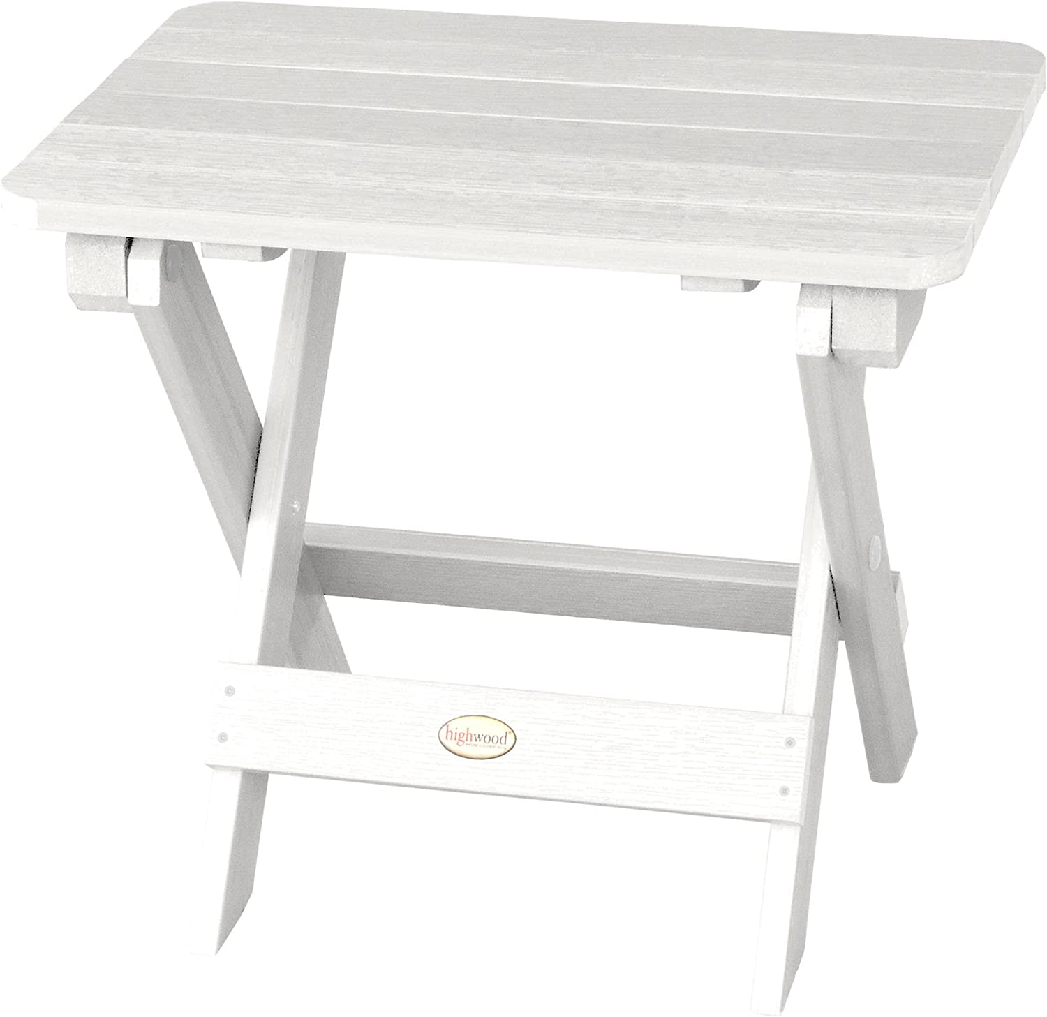 Highwood Folding Adirondack Max 67% OFF White All stores are sold Side Table