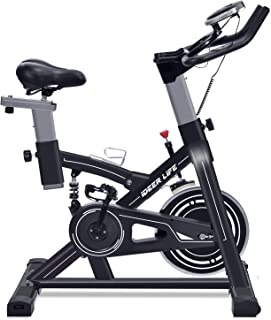 IDEER LIFE Indoor Cycling Bike Stationary Exercise Bike for Home Cardio Workout Smooth Belt Drive with Hand Pulse Sensor/LCD Display/Tablet Mount/Comfortable Seat Cushion